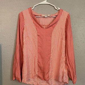 Boden silk blend blouse 6